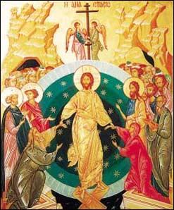 Icona russa: Risurrezione di Nostro Signore – Collezione privata.