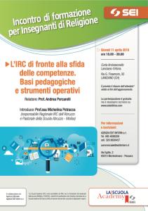 L'IRC di fronte alla sfida delle competenze. Basi pedagogiche e strumenti operativi